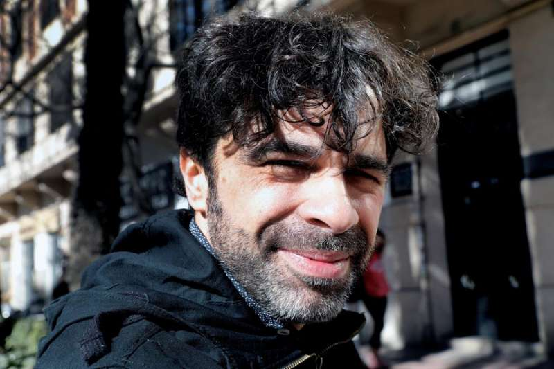 El cineasta Samuel Sebastian ha dirigido la undécima edición del Festival internacional de Cine y Derechos Humanos de Valencia, Humans Fest. EFE/Juan Carlos Cárdenas