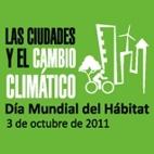 Cartel del Día Mundial del Hábitat 2011. Foto EPDA