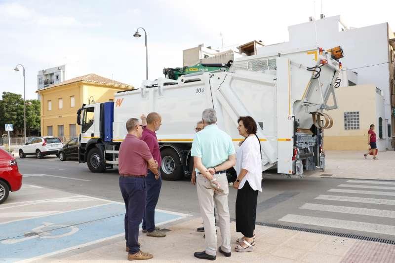 Nuevo camion para la recogida de residuos