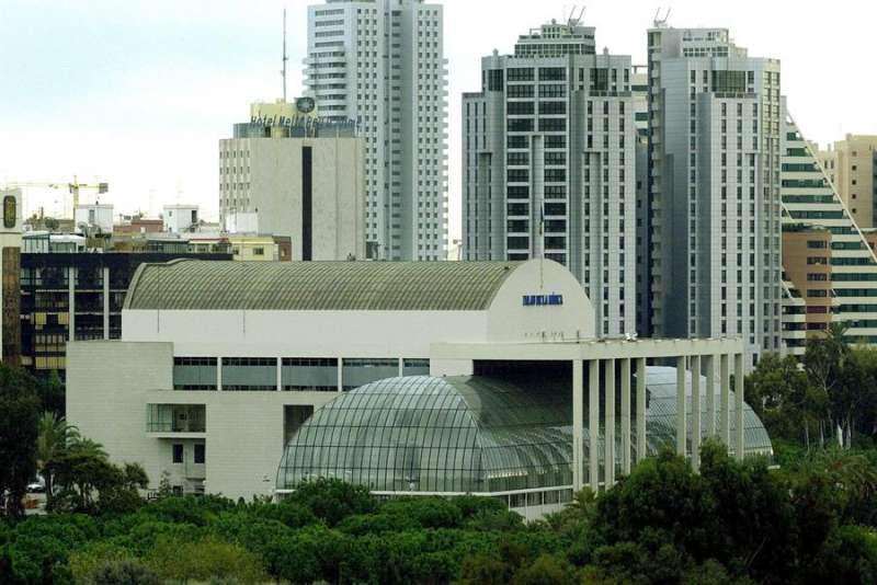 Vista panor�mica del Palau de la M�sica de Valencia. EFE