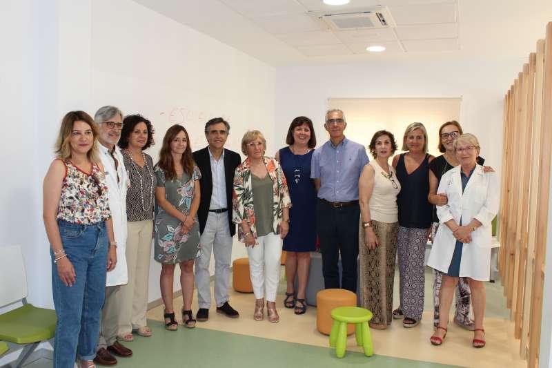La consellera de Sanitat Universal y Salud Pública, Ana Barceló, ha visitado las instalaciones. GVA