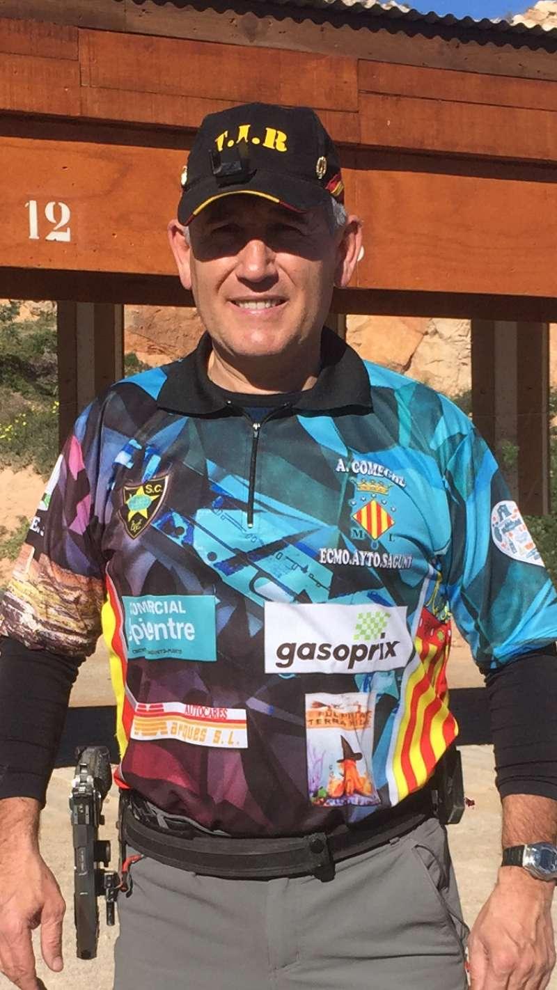 Antonio Comeche, oficial de la Policía Local del Ayuntamiento de Sagunto