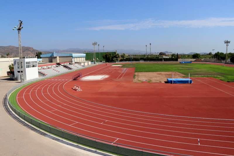 Imagen archivo de la pista de atletismo EPDA