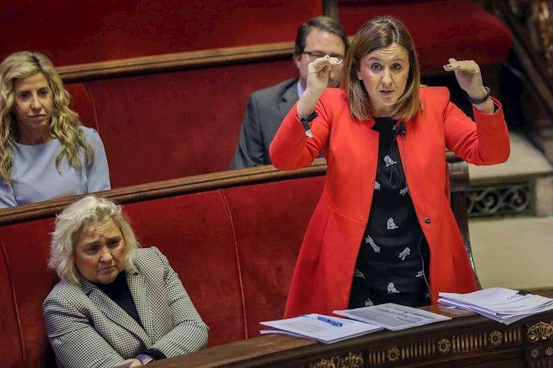 La Portavoz del grupo municipal del PPCV en el Ayuntamiento de València, Maria José Català. EFE