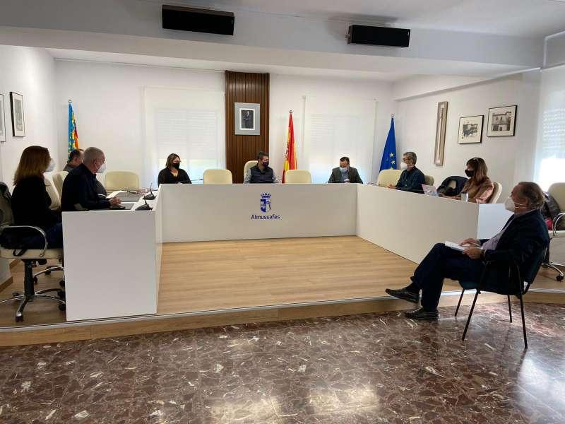 Reunió emergències./Ajuntament Almussafes