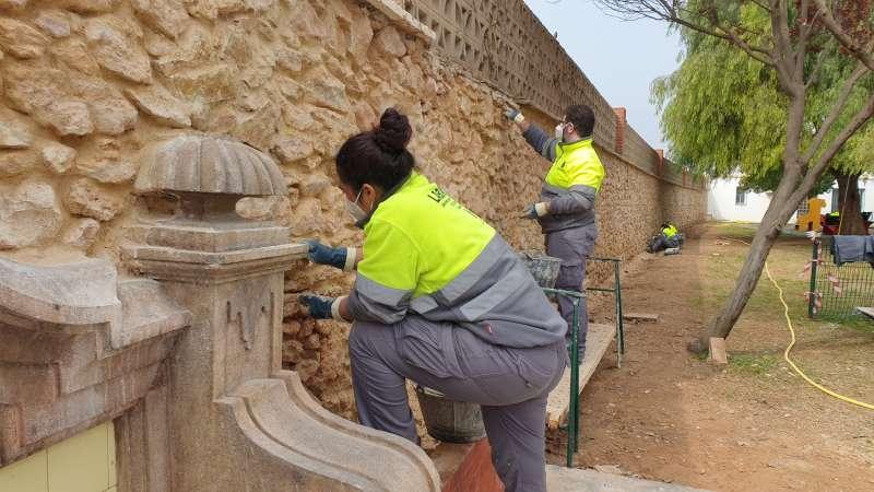 Ribarroja recibe 482.716 euros para la puesta en marcha de un nuevo taller de empleo para la mejora paisajística del Parque Maldonado. EPDA