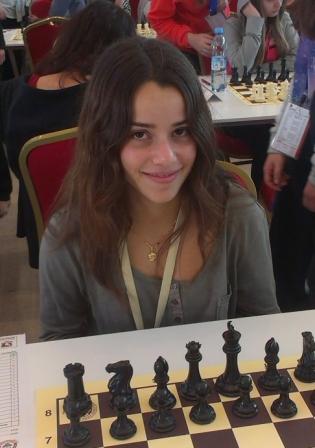 Irene Nicolás, subcampeona mundial sub-16. FOTO: DIVAL