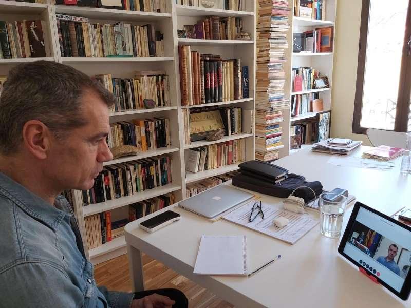 Cantó mantiene una reunión con Puig por videoconferencia. EPDA