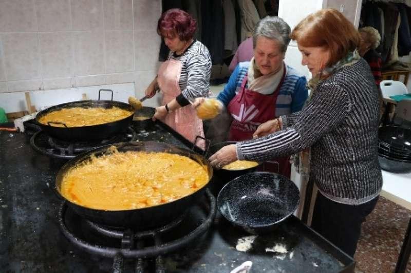 Preparación de los platos. EPDA