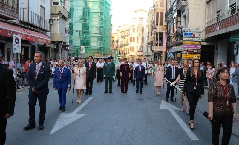 Representación civil en la procesión de Segorbe