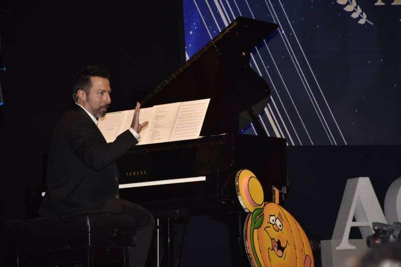 El músico Alberto de Paz