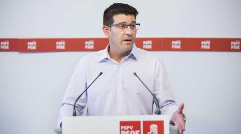 El portavoz de la ejecutiva, Jorge Rodríguez