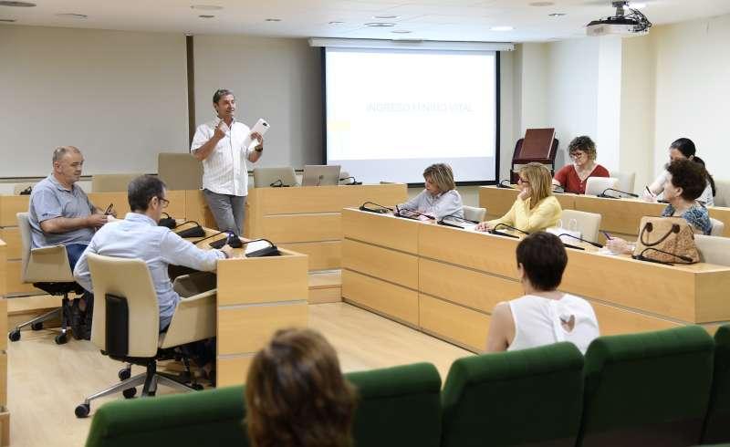 Participante en la sesión informativa