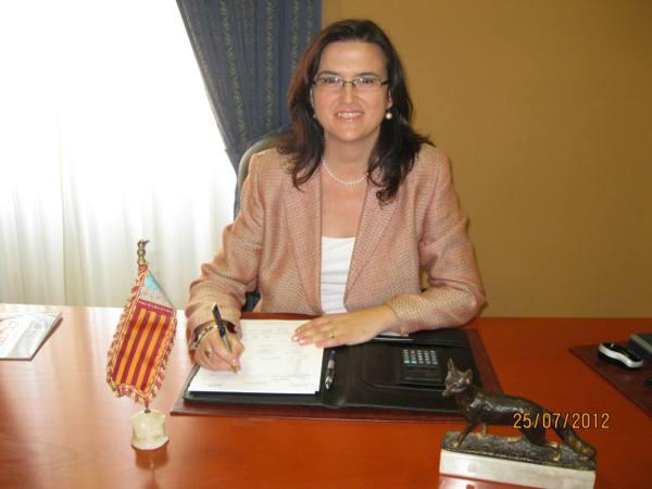 La alcaldesa de Almàssera, Laura Roig. EPDA