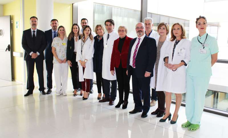 La consellera de Sanitat visita el Hospital de Torrevieja