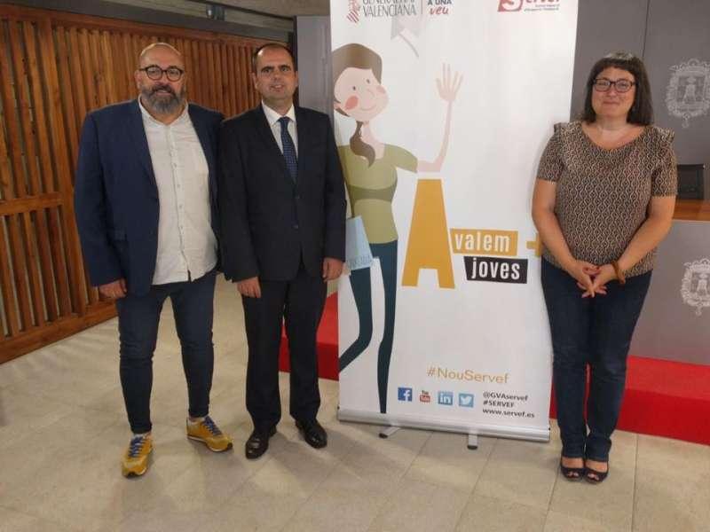 Presentación del programa en Alicante.