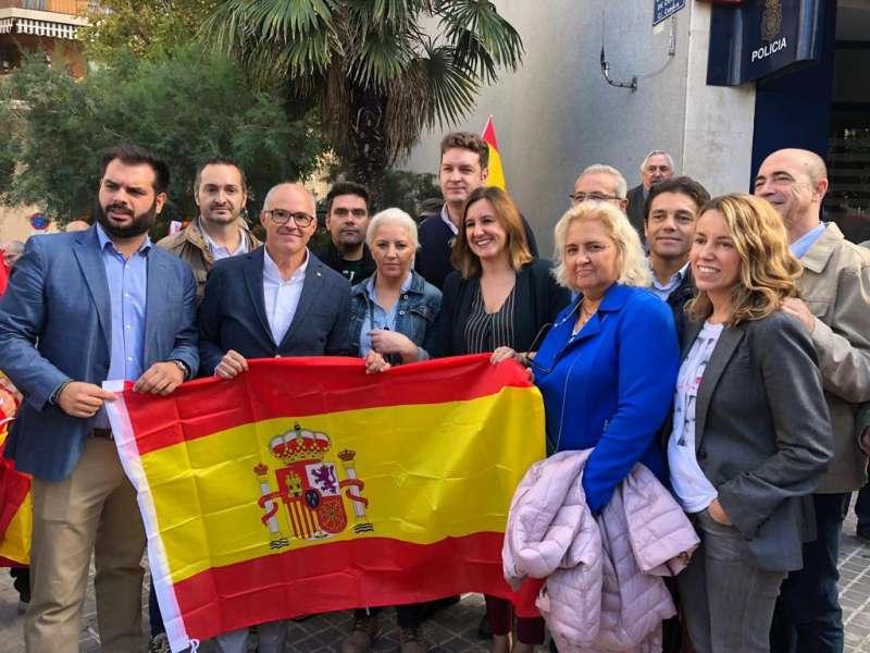 Catalá y otros dirigentes popullares. EPDA