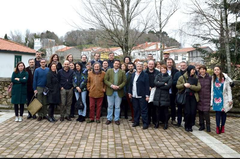 Foto de familia de Asociaciones de Empresas Productoras.