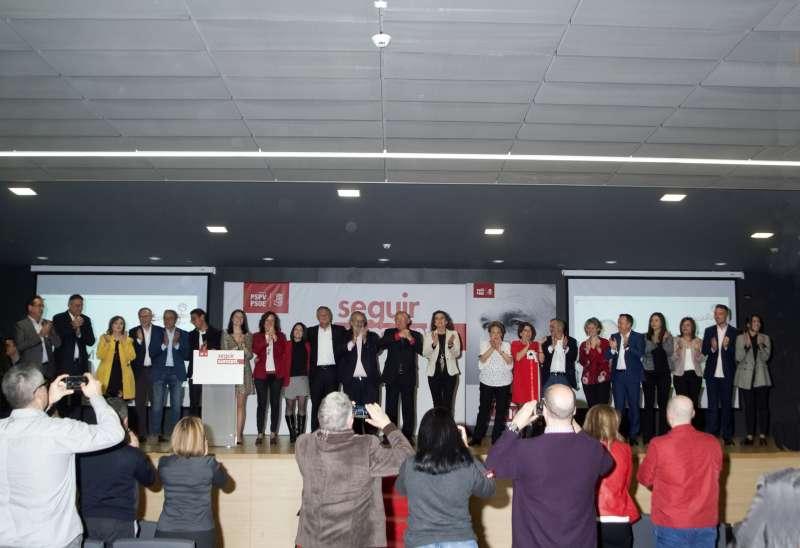 Presentación del Partido Socialista en Llíria./epda