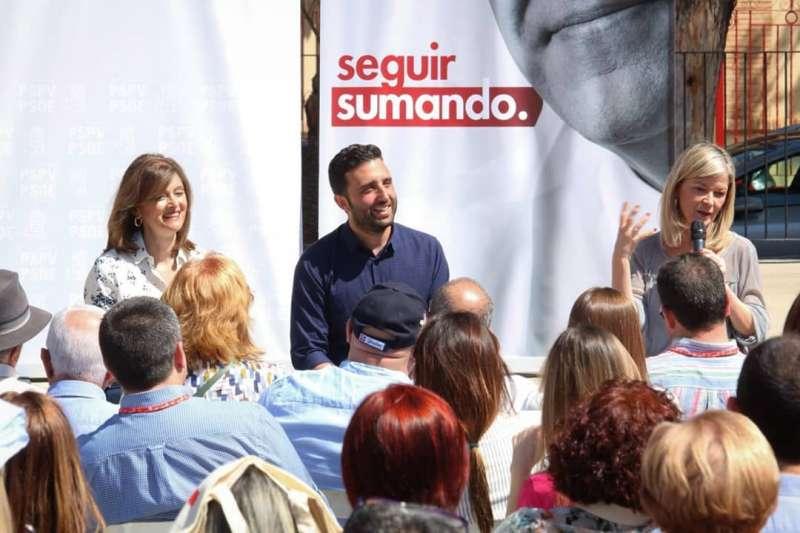 Acto electoral del PSPV en Sagunt. EPDA