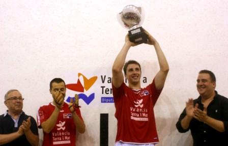 Campeones de la VII Copa President Diputació de València. FOTO: DIVAL