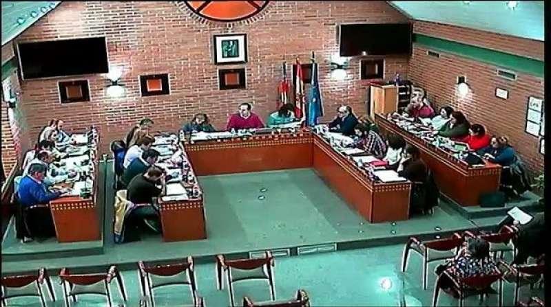 Pleno del Ayuntamiento de Aldaia. EPDA