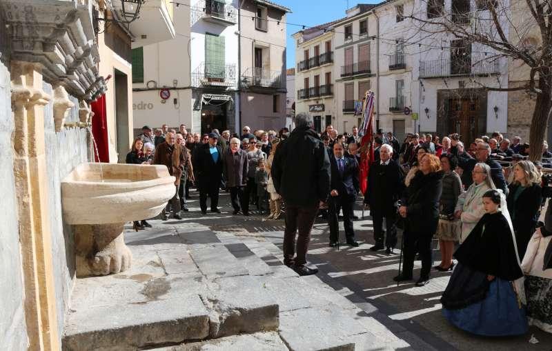 La fuente de Santa Águeda recupera su vaso