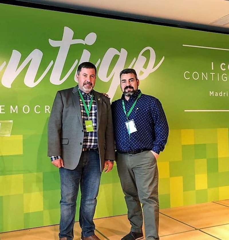 Juan García y Jorge Decodes. FOTO EPDA