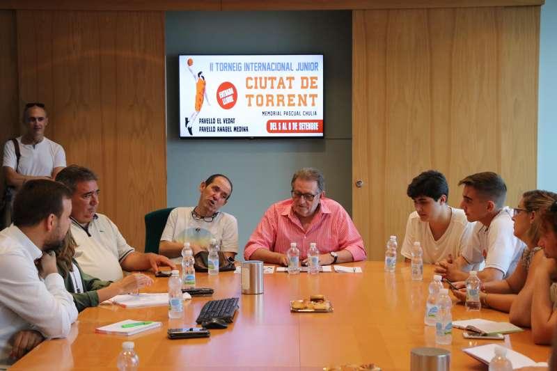 Presentación del torneo a los medios de comunicación. EPDA