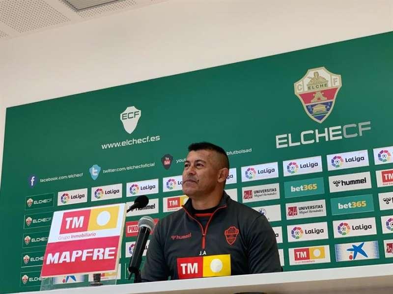 Almirón, el entrenador del Elche / EPDA