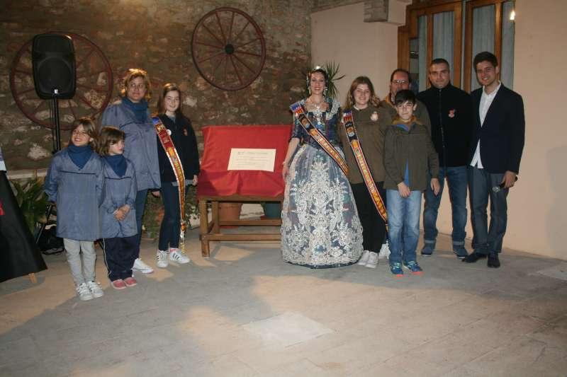 Inauguración de la exposición del ninot de Almàssera. EPDA