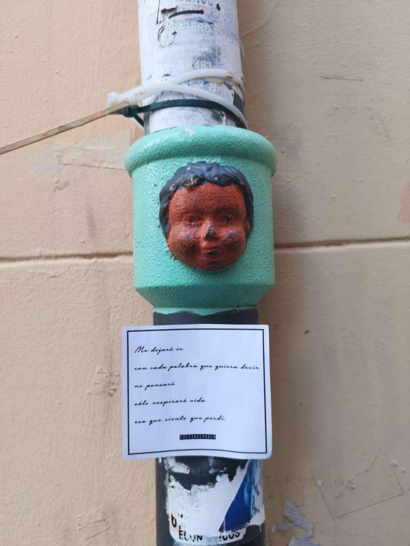 Poesía en el barrio del Carmen. B. BUENO