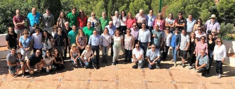 Bonig esta mañana en un almuerzo de inicio de curso con militantes del PP de la ciudad de Castellón