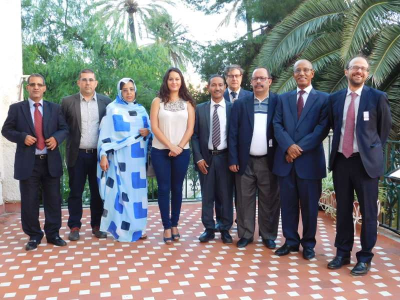 Visita de la delegación de Mauritania