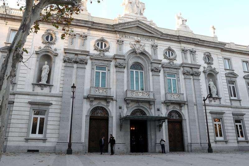 Sede del Tribunal Supremo, en Madrid. EFE/Archivo