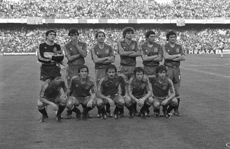 Imagen de un partido histórico de la selección española de fútbol en Mestalla. EFE/Archivo