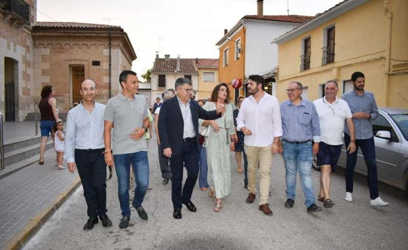 El PSOE de Camporrobles reúne a más de cien personas en la Fiesta de la Rosa Comarcal 2019