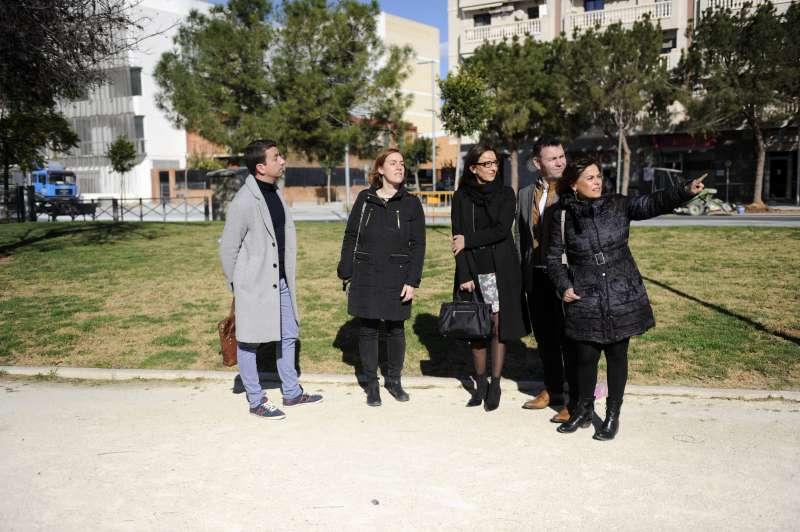Visita de la vicepresidenta a Catarroja