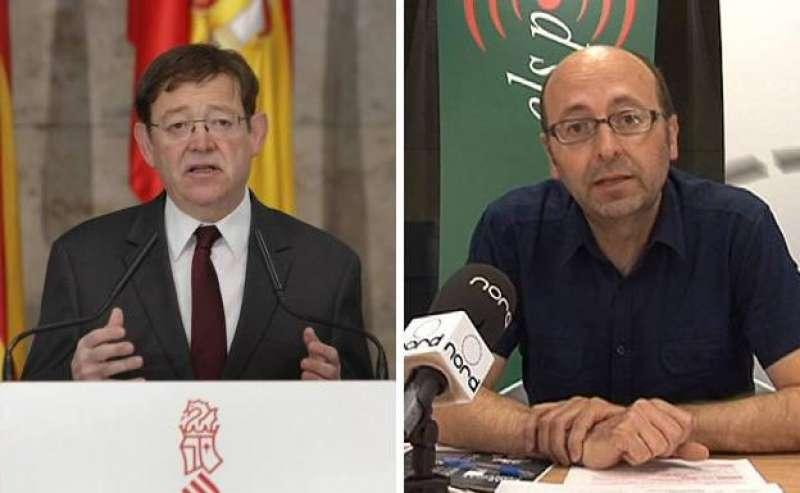 Francisco Javier Puig y Ximo Puig. Archivo EPDA.