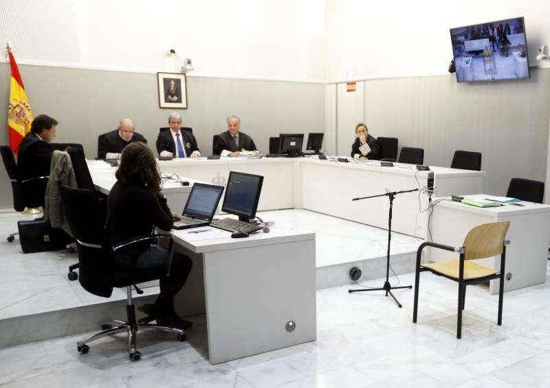 Sala de juicios. EFE/Archivo