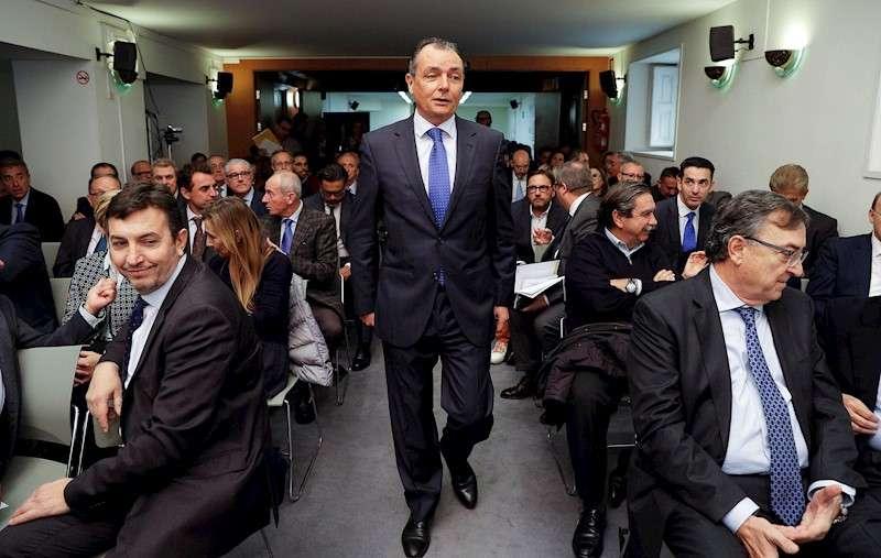 El presidente de la Confederación Empresarial de la Comunitat Valenciana (CEV), Salvador Navarro. EFE/Manuel Bruque/Archivo
