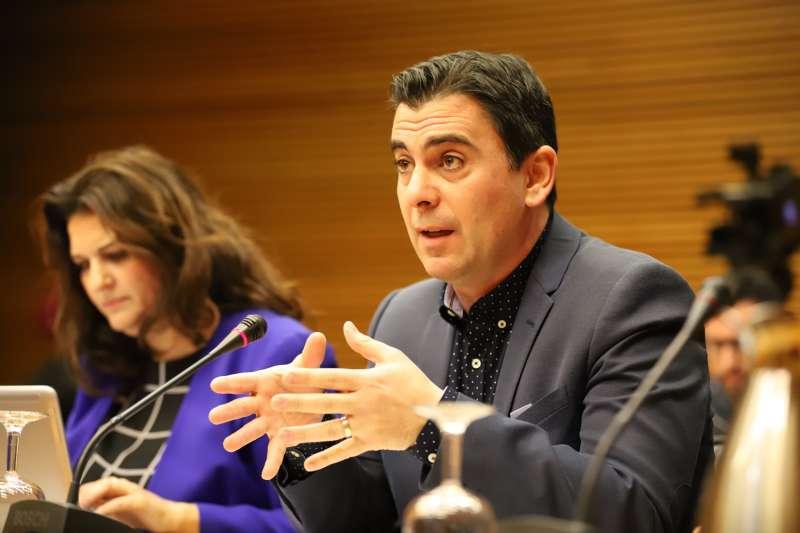 El diputado de Ciudadanos, Toni Subiela