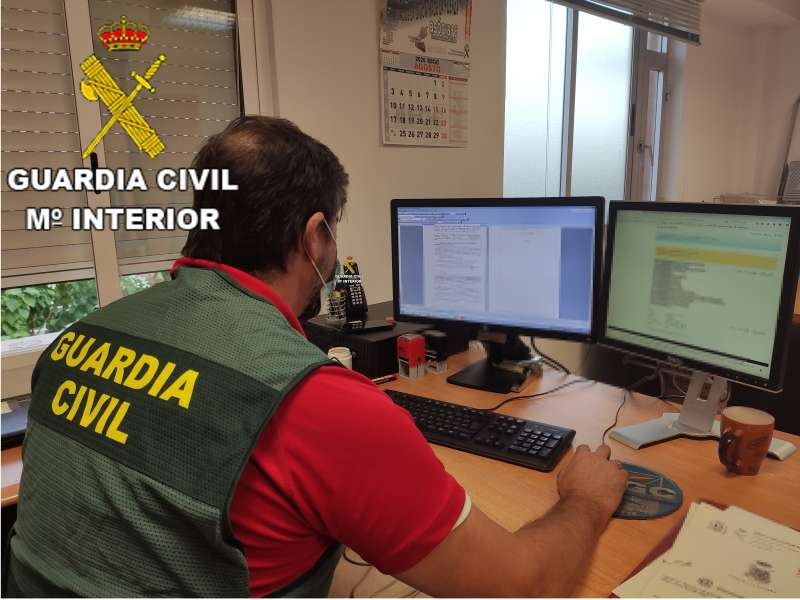 Fotografía de la Guardia Civil. EPDA.