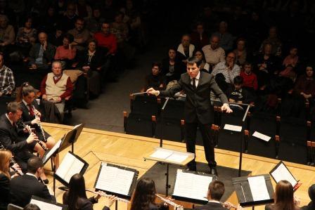 Concierto de la CIM de Mislata en el Palau de la Música de Valencia.