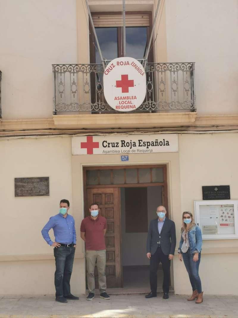 Visita a Cruz Roja. EPDA