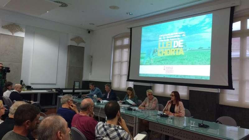 Presentació Pla de Desenvolupament Agrari a València.