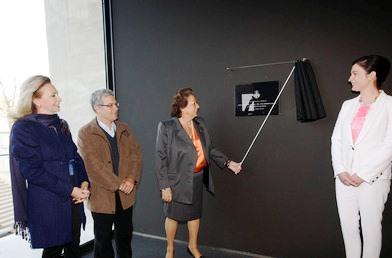 Rita Barberá inaugura el Centro Cultural La Rambleta. Foto EPDA