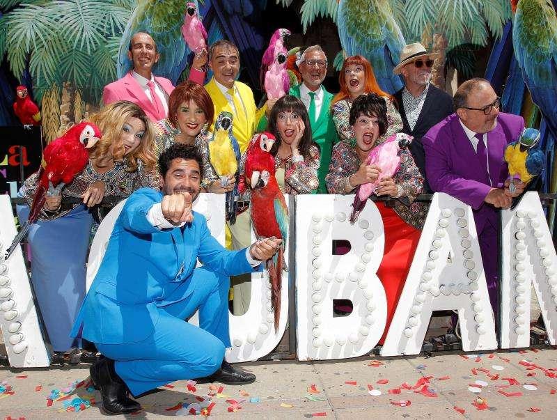 La compañía de teatro La Cubana ha presentado hoy en el Teatro Principal de Alicante su montaje