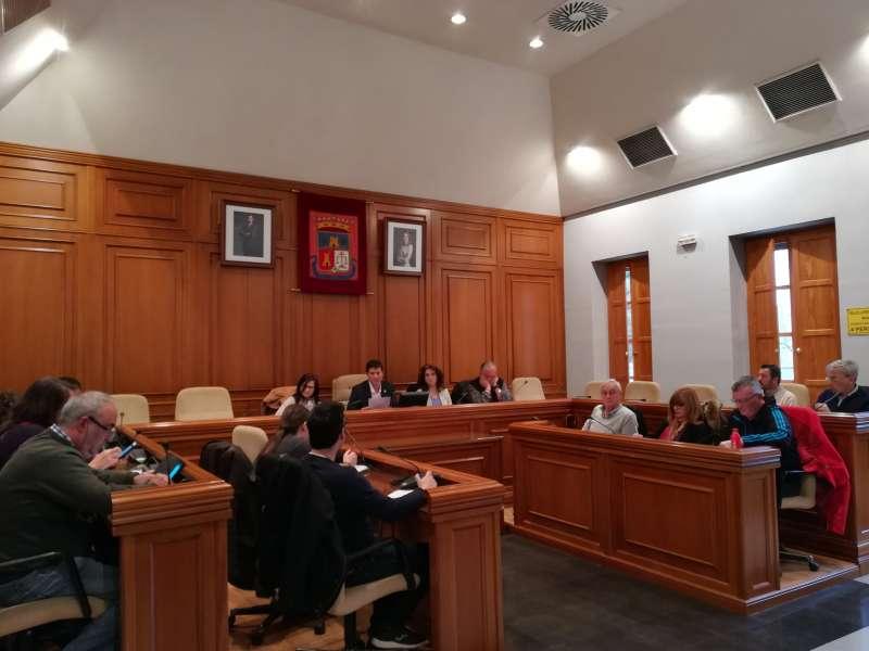 Sesiones celebradas hoy en Burjassot. EPDA