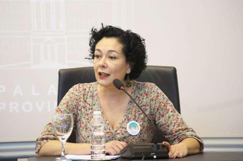 La diputada provincial d?EUPV, Raquel Pérez
